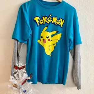 Pokemon Long Sleeve T Shirt, Child, XL